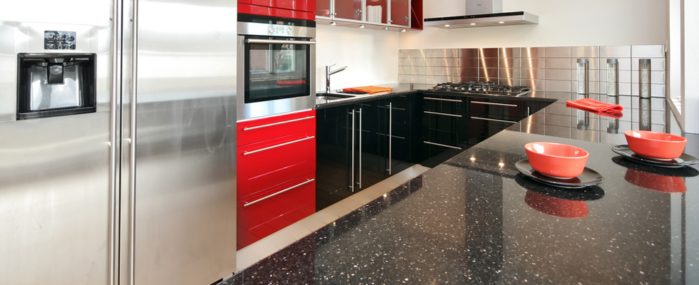 Magnificent Red Black and White Kitchen 980 x 400 · 552 kB · png